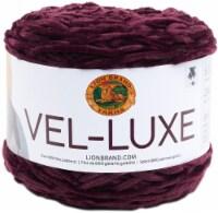 Lion Brand Vel-Luxe Yarn-Eggplant - 1