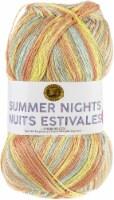 Lion Brand Summer Nights Bonus Bundle Yarn-Sunset - 1