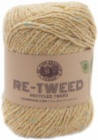 Lion Brand Retweed Yarn-Wheat - 1