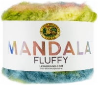 Lion Brand Mandala Fluffy Yarn-Anemone - 1