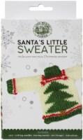 Lion Brand Santa's Little Sweaters Yarn Kit-Christmas Tree - 1