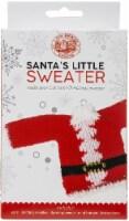 Lion Brand Santa's Little Sweaters Yarn Kit-Santa Claus - 1
