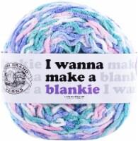 Lion Brand I Wanna Make A Blankie Yarn-Calluna - 1 ct