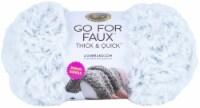 Lion Brand Go For Faux Thick & Quick Bonus Bundle Yarn-Chinchilla - 1