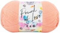 Lion Brand Pound Of Love Yarn-Creamsicle - 1