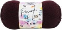 Lion Brand Pound Of Love Yarn-Claret - 1