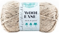 Lion Brand Wool-Ease Thick & Quick Yarn-Oatmeal - 1