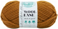 Lion Brand Wool-Ease Thick & Quick Yarn-Butterscotch - 1