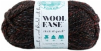 Lion Brand Wool-Ease Thick and Quick Yarn - Blackstone - Black - 1 ct