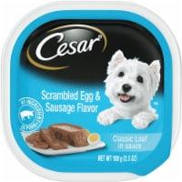 Cesar Scrambled Egg & Sausage Flavor Wet Dog Food - 3.5 oz