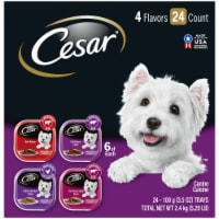 Cesar Classics Wet Dog Food Variety Pack