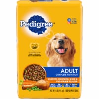 Pedigree Adult Complete Nutrition Roasted Chicken Rice & Vegetable Flavor Dry Dog Food