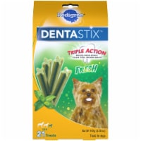 Pedigree Dentastix Triple Action Fresh Mini Breed Dog Treats