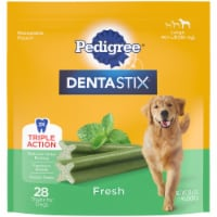 Pedigree Dentastix Triple Action Fresh Large Dog Treats