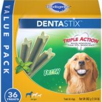 Pedigree Dentastix Fresh Large Dog Treats - 36 ct