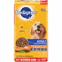 Pedigree Adult Complete Nutrition Roasted Chicken Rice & Vegetable Flavor Dry Dog Food