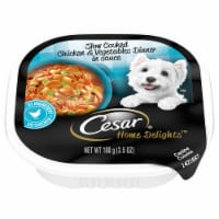 Cesar Home Delights Slow Cooked Chicken & Vegetables Dinner in Sauce Wet Dog Food