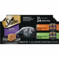 Sheba Perfect Portions Savory Chicken & Roasted Turkey Entree Variety Pack