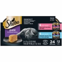 Sheba Perfect Portions Salmon & Whitefish Tuna Wet Cat Food Multipack