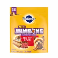 Pedigree Mini Jumbone Real Beef Flavor Dog Treats