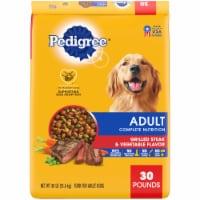 Pedigree Adult Complete Nutrition Grilled Steak & Vegetable Flavor Dry Dog Food