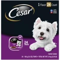 Cesar Canine Cuisine Filet Mignon Flavor Wet Dog Food