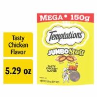 Temptations Jumbo Stuff Tasty Chicken Flavor Cat Treats Pouch