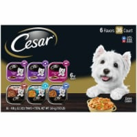 Cesar Classics & Home Delights Wet Dog Food Variety Pack
