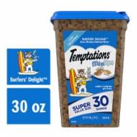 Temptations Surfers' Delight Flavor Cat Treats - 30 oz