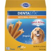 Pedigree Dentastix Large Dog Original Flavor Dental Dog Treat (18-Pack) 798852 - 18-Pack