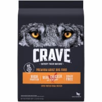 Crave with Protein from Chicken Grain Free Adult Dog Food