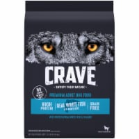 Crave with Protein from Salmon & Ocean Fish Grain Free Adult Dog Food