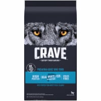 Crave Grain Free with Protein From Salmon & Ocean Fish Adult Dry Dog Food