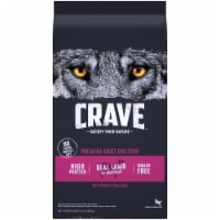 Crave with Protein from Lamb & Venison Grain Free Adult Dog Food