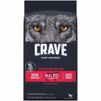 Crave with Protein From Beef Adult Dry Dog Food