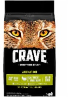 Crave Turkey Chicken & Duck Dry Adult Cat Food