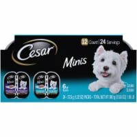 Cesar Minis Chciken Variety Wet Dog Food