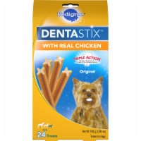 Pedigree DentaStix Triple Action Original with Real Chicken Mini Dog Treats