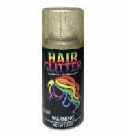 Holiday Times Hair Glitter - Gold