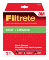 3M Filtrete Bissell Upright Vacuum Bags - 3 pk