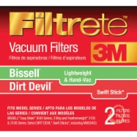 3M  Filtrete  Vacuum Filter  For Bissell Lightweight/Hand Vac 1 pk - Case Of: 1; Each Pack - Count of: 1