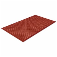 Crown WSCT35TC Safewalk-Light Heavy-Duty Antifatigue Mat- Rubber- 36 x 60- Terra Cotta