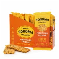 Sonoma Creamery Everything Cheddar Cheese Crisp Bars