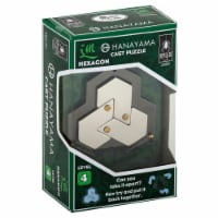 BePuzzled Hexagon Hanayama Cast Metal Puzzle