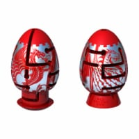 BePuzzled Smart Egg 2 Layer Red Dragon Labyrinth Puzzle