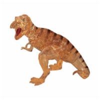 BePuzzled 3D Crystal Puzzle T-Rex - Brown