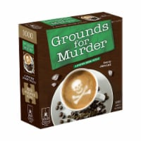 BePuzzled Grounds for Murder Classic Mystery Jigsaw Puzzle