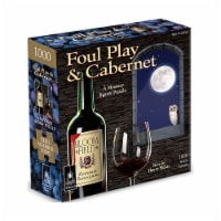 University Games Foul Play & Cabernet Classic Mystery Jigsaw Puzzle