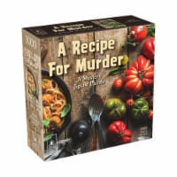 University Games Recipe for Murder Classic Mystery Jigsaw Puzzle