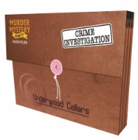University Games Underwood Cellars Murder Mystery Party Case File - 1 ct